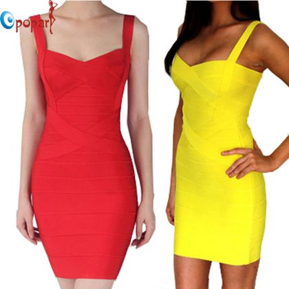 Bandage Dress Bodycon Club Party Dresses