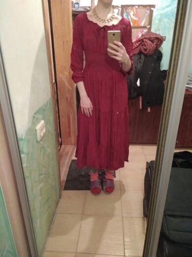 Medieval Dress Cotton Long Maxi Dresses