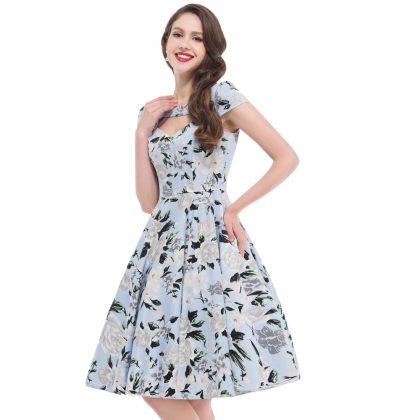 Retro Women Dresses Rockabilly Vintage Dress