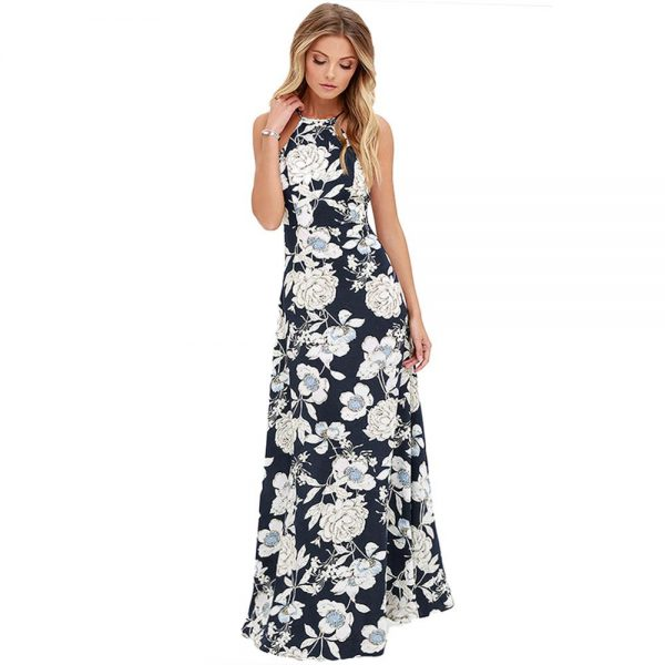 Summer Long Maxi Dress Evening Party Dresses