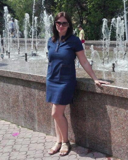Summer Women Denim Dresses Short Sleeves Dress