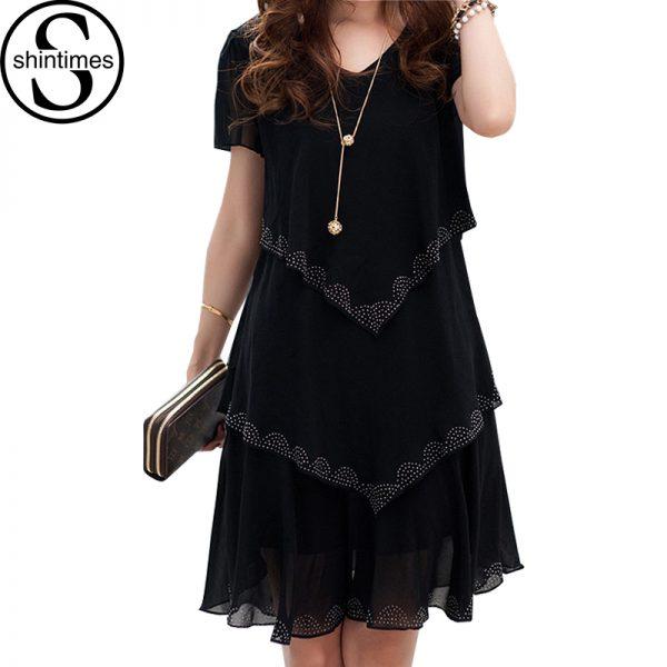 Women Chiffon Dress Summer Party Dresses