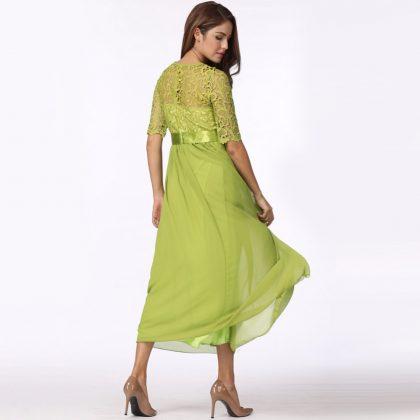 Women Lace Dress Long Gown Party Dresses