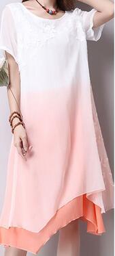 Women Summer Dress Cotton Linen Dresses