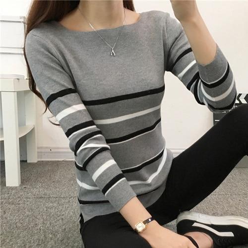 Autumn Winter Sweater Women Pullovers