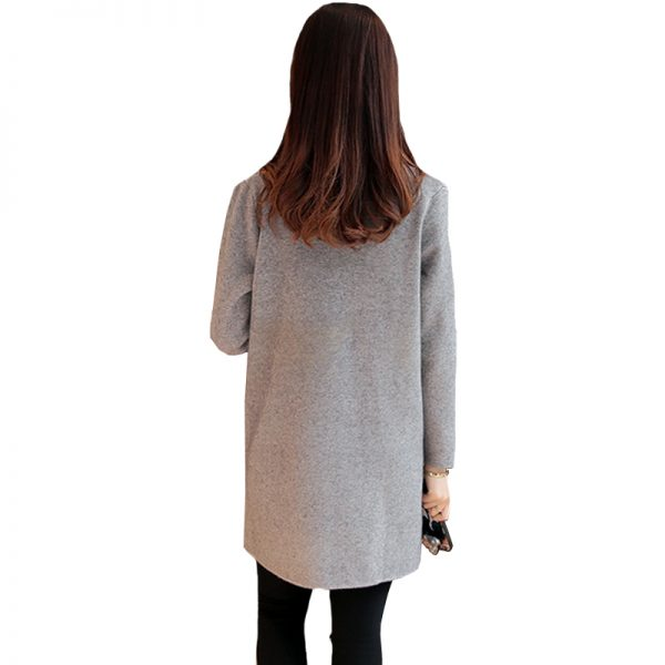 Cardigan Knitted Sweater Women Winter Jacket