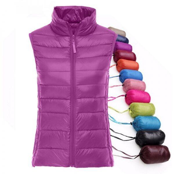 Duck Down Vest Waistcoat Ultra Light Jacket