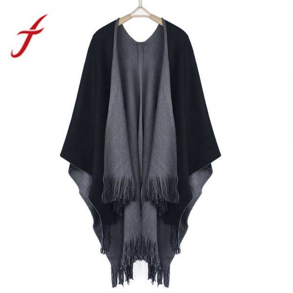 Women Loose Overwear Oversized Knitted Cashmere