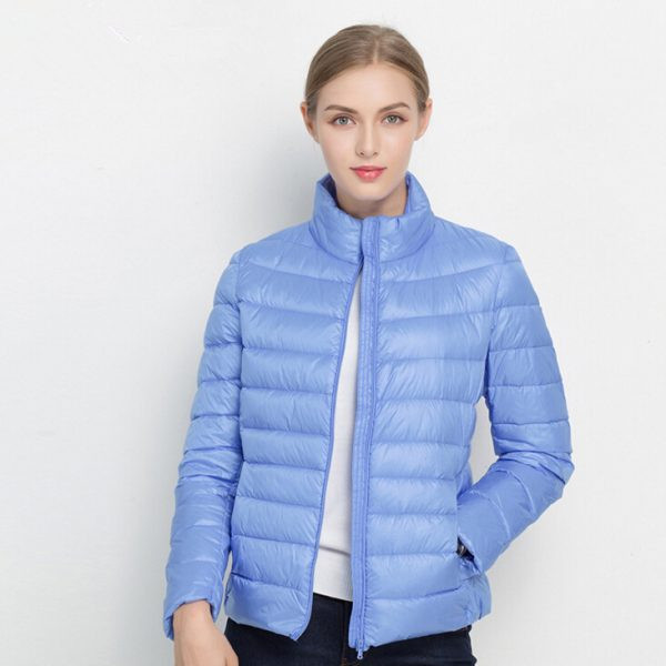 Duck Down Jacket Fashion Light Down Coat