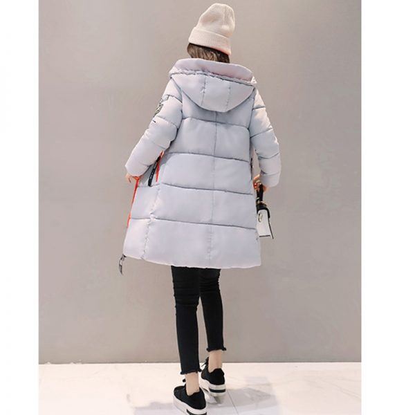 Female Parka Coat Feminina Long Down Jacket