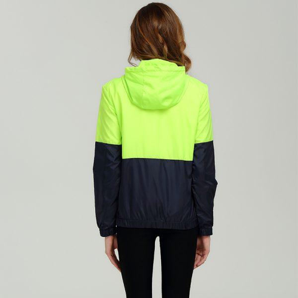 Hooded basic Jacket Casual Thin Windbreaker