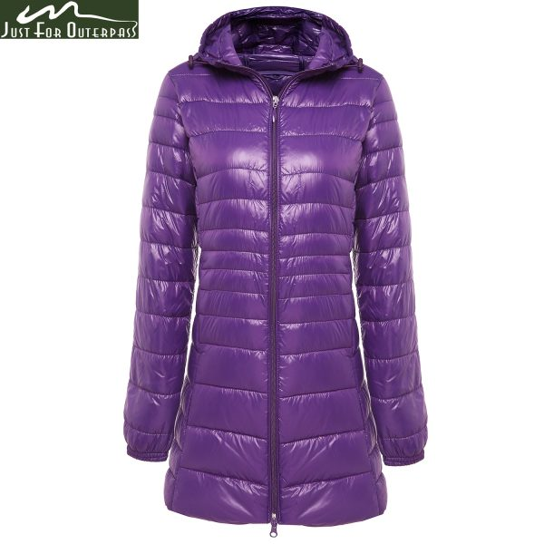 Long Winter Warm Coat Duck Down Jacket