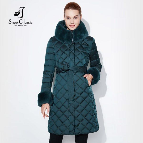 Snow Classic Jacket Mujer Abrigo Invierno Coat