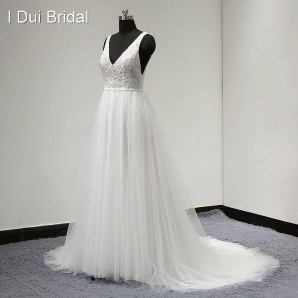 Boho Wedding Dresses Vestido Bridal Gown