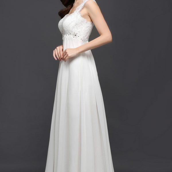 Chiffon Wedding Dress Long Gown Bride Dresses