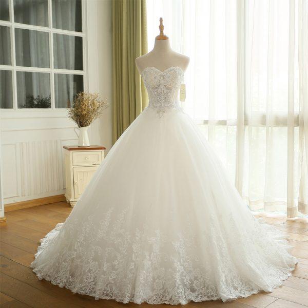 Crystal Ball Gown Wedding Dress Princess Bridal Dresses