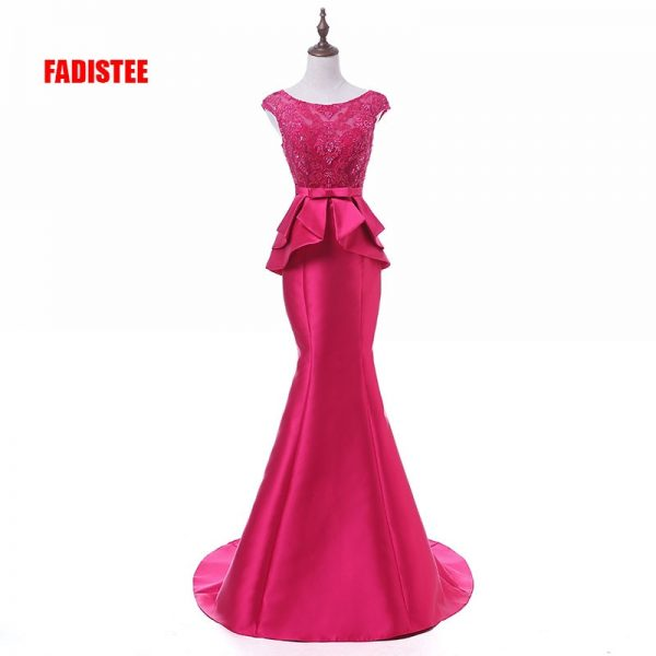 Elegant Party Dress Prom Dresses Lace Long Gown
