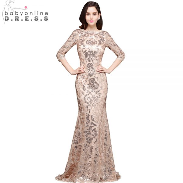 Mermaid Evening Dresses Long Formal Dress