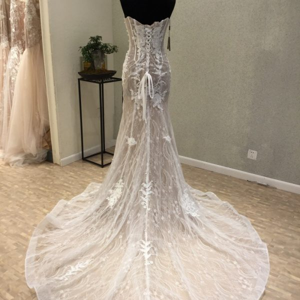 Mermaid Wedding Dresses Lace Corset Dress