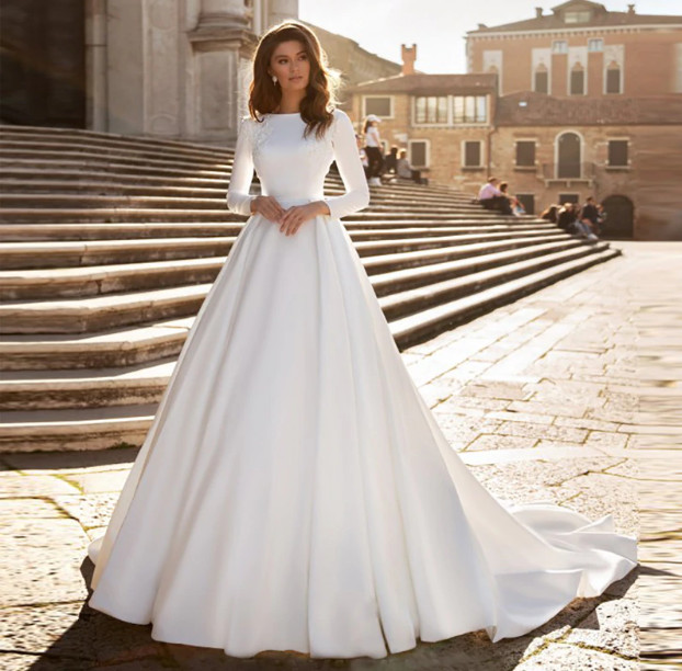 The Characteristics of Wedding Dresses