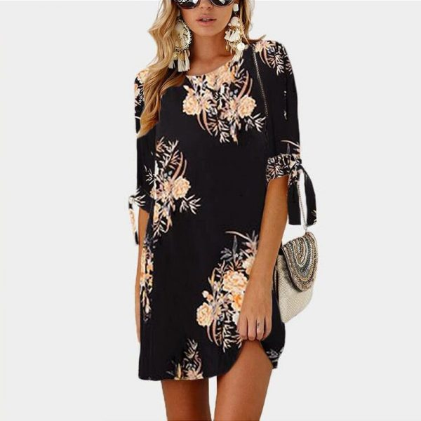 Summer Dress Chiffon Beach Dress Tunic Sundress