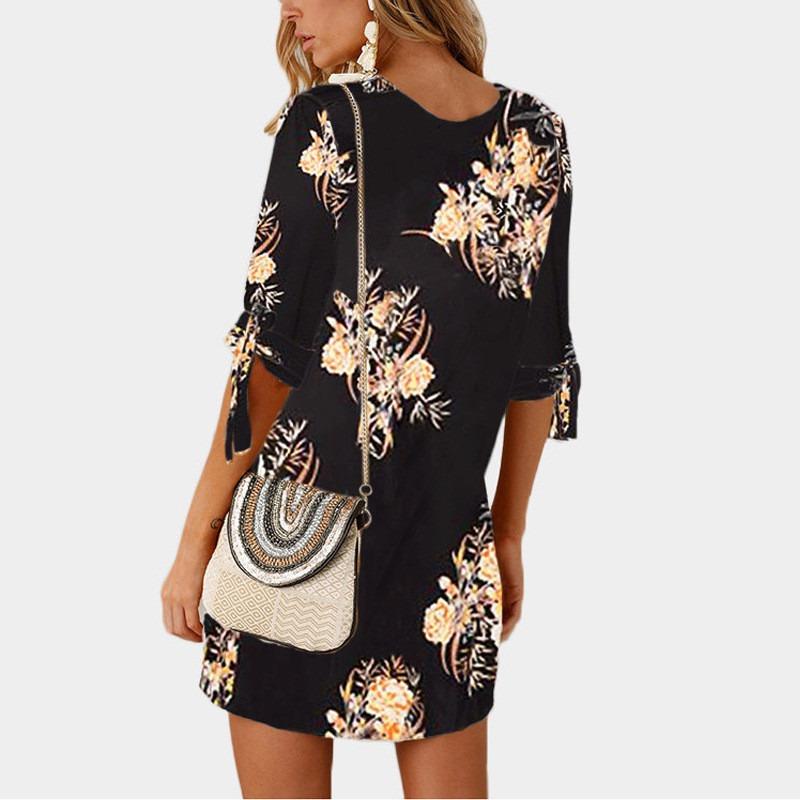Summer Dress Chiffon Beach Dress Tunic Sundress