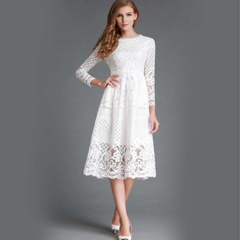 Cool Looks For Summer - How to Wear White Summer Dresses