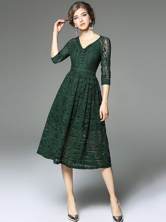What Are the Best Hues of Green Dresses For Women?